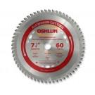 """Aluminum Cutting Saw Blades 7 1/4"""" X 5/8"""" X 60T"""