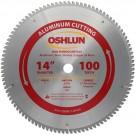 """Aluminum Cutting Saw Blades 14"""" X 1"""" X 100T"""